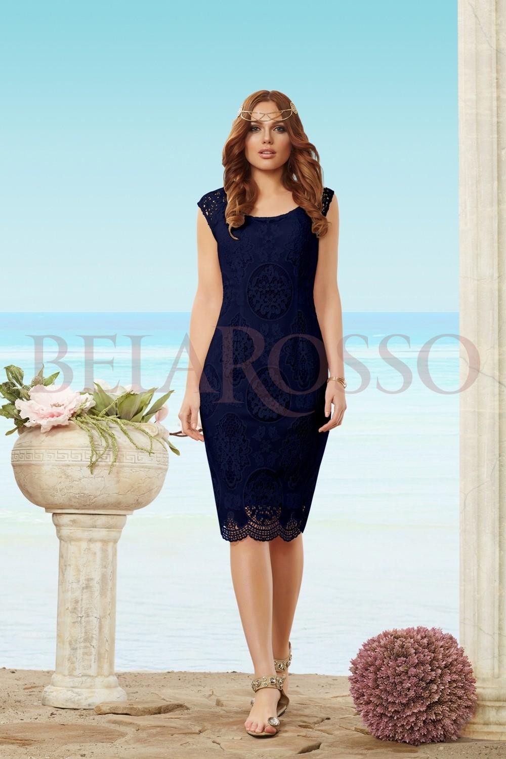 Темное синее платье доставка