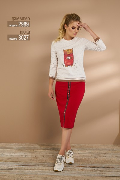 Юбка Niv Niv Fashion модель 3027